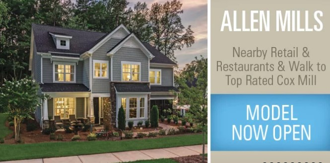 Allen Mills Homes Concord Nc New Construction Real