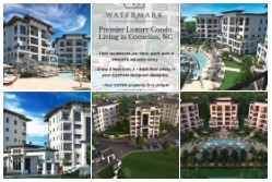Watermark Lake Norman Luxury Condos for Sale!